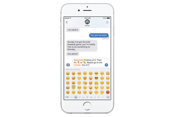 ios 10 messages emoji tap to replace