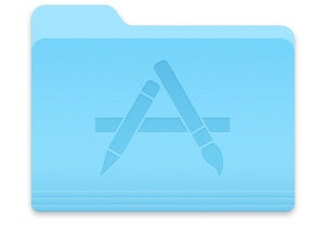 macos application folder icon