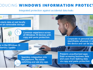 windows information protection infographic