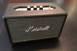 The Marshall Kilburn Bluetooth Wireless Speaker.
