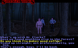 Stranger Things - SCUMM