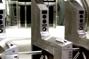 subway turnstile
