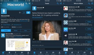 twitter night mode ios app