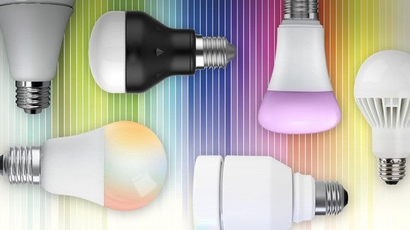 Color LED smart bulbs