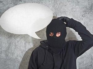 confused burglar