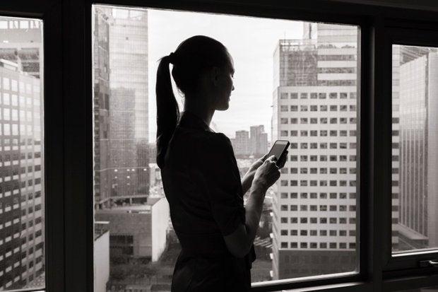 mobile enterprise woman
