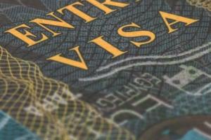 H-1B visa passport