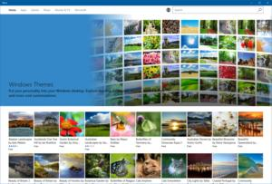 windows store themes