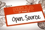 hello my name is open source nametag