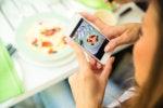 instagram app food taking photo