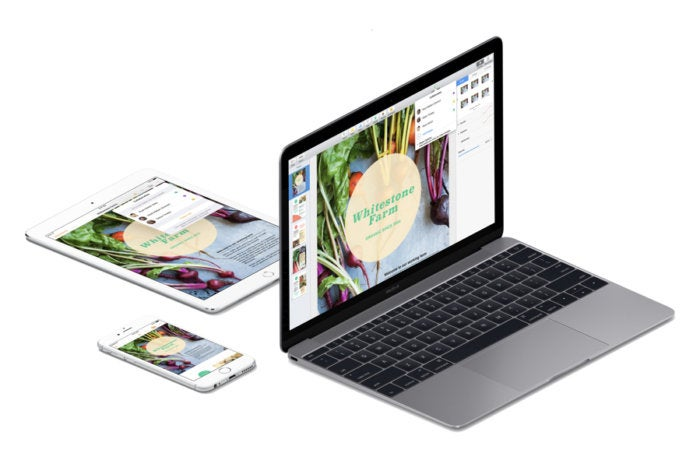 iwork pages mac iphone ipad