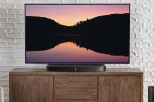 Sanus WSTV1 swiveling TV stand