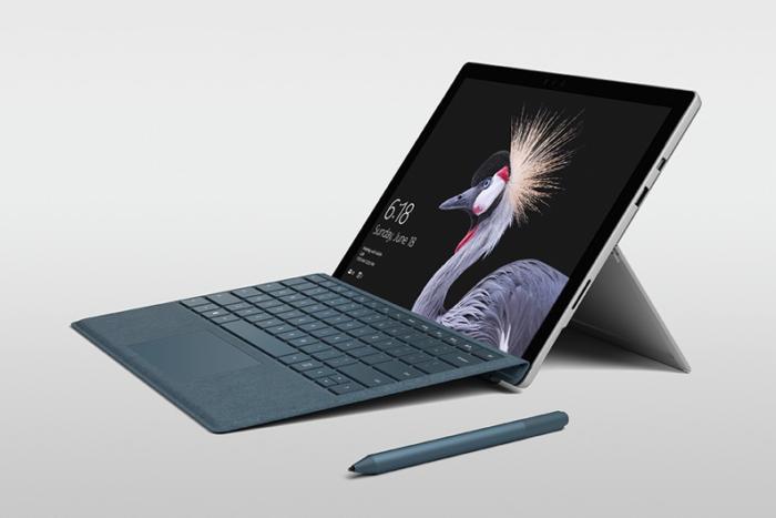 Microsoft surface pro 2017 large