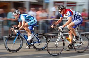 bicycle race competition speed