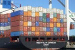 containers port ship boat