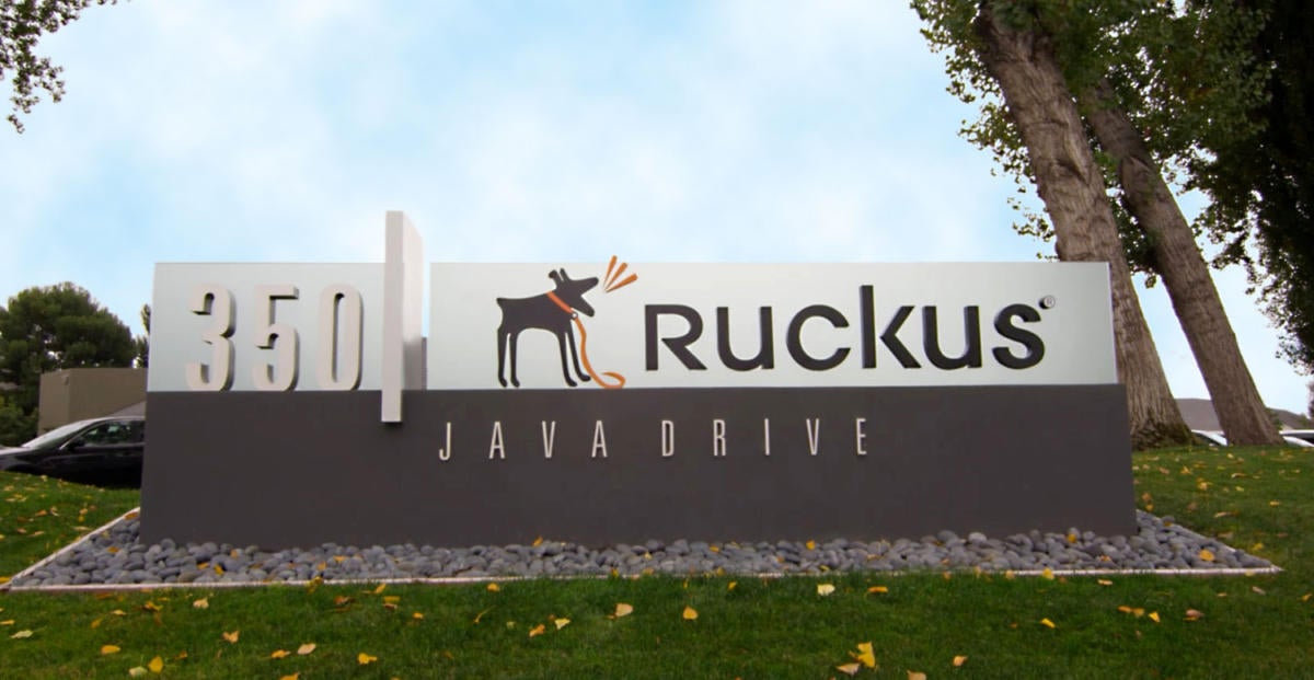 Ruckus Wireless HQ sign